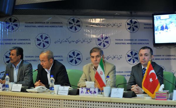 فعالان اقتصادی ایرانی و ترک رو در رو گفتوگو کردند/ مذاکره برای گسترش روابط دو جانبه