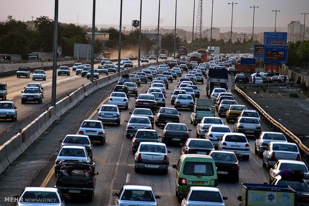 افزایش ۸ درصدی ترددهای جاده ای علی رغم محدودیتهای کرونایی